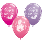 "11"" Sofia Birthday Disney Latex balloons x 25"